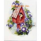 Birdhouse  - #AOR110  -  PRINT
