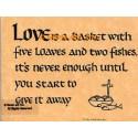 Love Is  - #AOR33  -  PRINT