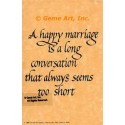 A Happy Marriage  - #AOR36  -  PRINT