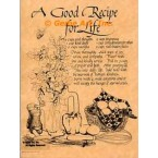 A Good Recipe For Life  - #AOR56  -  PRINT