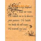 The Lord Is My Shepherd  - #AOR58  -  PRINT