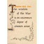 Wisdom of The Wise  - #ORSC6  -  PRINT