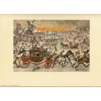 Winter Carriage Scene  -  #APD7493  -  PRINT