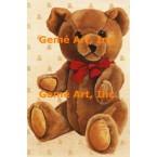 Teddy Bear  - #BORBB30  -  PRINT