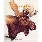 Moose  - #BOR13  -  PRINT