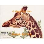 Giraffe  - #BOR16  -  PRINT