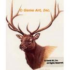 Elk  - #BOR21  -  PRINT