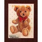 Teddy Bear  - #BOR30  -  PRINT