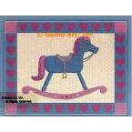 Rocking Horse  - #BOR38  -  PRINT