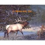 Elk  - #BOR53  -  PRINT