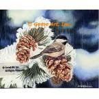 Chickadee  - #MOR503  -  PRINT