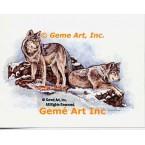 Wolves  - #COR104  -  PRINT