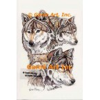 Wolves  - #COR120  -  PRINT