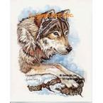 Wolf  - #COR122  -  PRINT