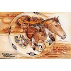 Southwest Horse  - COR128  -  PRINT