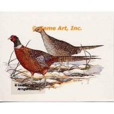 Pheasants  - #COR2  -  PRINT