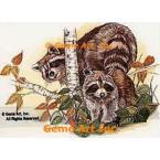 Raccoons  - #COR32  -  PRINT