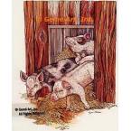 Pigs  - #COR43  -  PRINT