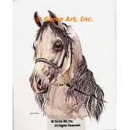 Horse  - #COR93  -  PRINT