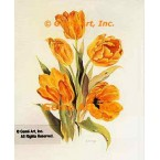 Yellow Tulips  - #ZOR1002  -  PRINT