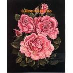 Pink Roses  - #ZOR1011  -  PRINT