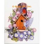 Birdhouse  - #ZOR1016  -  PRINT