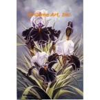 Soft Spirit, Iris  - LOR616  -  PRINT