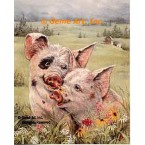 Pigs In Love  - #ZOR305  -  PRINT