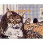 Cat & Mice  - ZOR315  -  PRINT