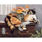Careful Cat  - #ZOR316  -  PRINT