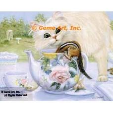 Teapot Surprise  - ZOR348  -  PRINT