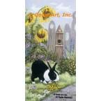 Bunny Crossing  - #ZOR346  -  PRINT