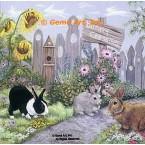 Bunny Crossing  - #ZOR360  -  PRINT
