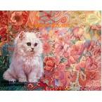Quilt Cat  - #ROR409  -  PRINT