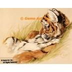 Tiger Cub  - #ROR416  -  PRINT