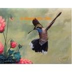 Blue-Throated Hummingbird  - #ROR427  -  PRINT