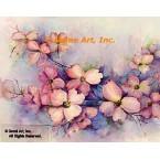 Pink Dogwood  - #ROR1002  -  PRINT