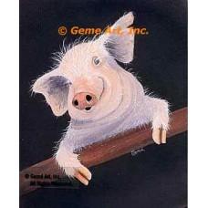 Pig  - #MOR710  -  PRINT