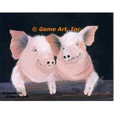 Pigs  - #MOR716  -  PRINT