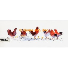 Chickens  - #MOR721  -  PRINT