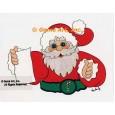 Santa  - #LOR307  -  PRINT