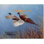 Pheasants  - #QOR32  -  PRINT