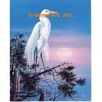 Egret  - #QOR37  -  PRINT