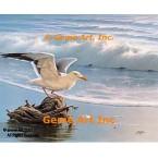 Seagull  - #QOR4  -  PRINT