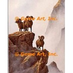 Big-Horned Sheep  - #QORQN10-1  -  PRINT