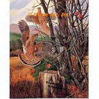 Grouse In Apple Orchard  - #MOR612  -  PRINT