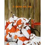 Snow Covered Pumpkins  - #MOR630  -  PRINT