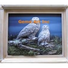 Snow Owls Paper Toled Project #QOR36