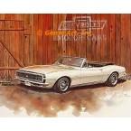 1967 Chevrolet Carmaro SS Convertible  - #GOR11  -  PRINT