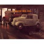 "1941 Crosley Parkside Delivery, 1931 Duesenberg""J"" Pheaton  - #GOR12  -  PRINT"